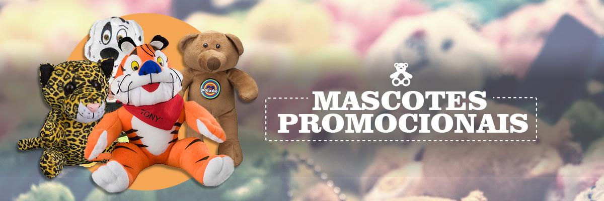Bonecos de Pelúcia e Mascotes Promocionais