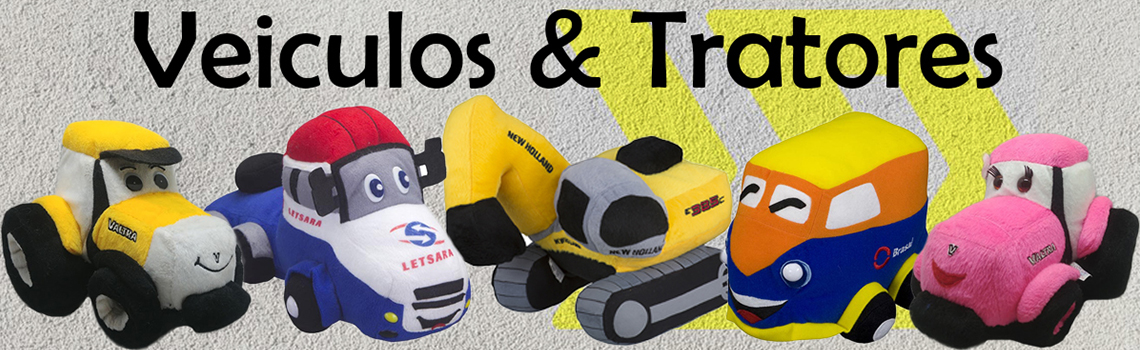 Bonecos e Mascotes Personalizados para Área Automobilística e Agrícola